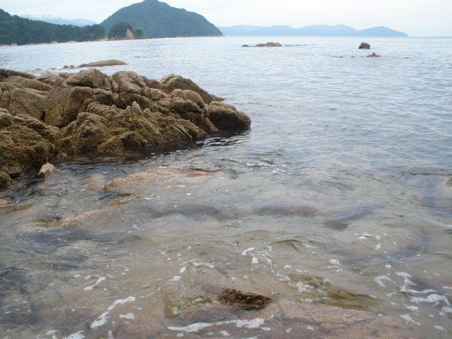 京都、日本海。久しぶりの海で見たものは・・・